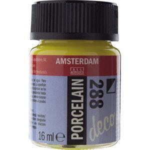 Amsterdam Deco Porselein Heldergeel Dekkend 16 ML Kleur 288