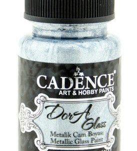Cadence Dora Glas & Porselein verf Metallic Aqua
