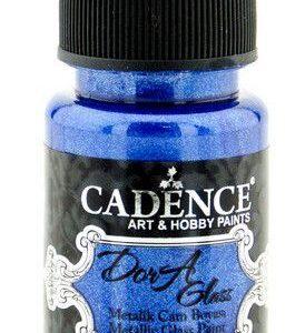 Cadence Dora Glas & Porselein verf Metallic Sax Blue