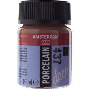 Amsterdam Deco Porselein Terra Dekkend 16 ML Kleur 437