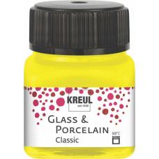 Kreul 16201 Porseleinverf Classic Kanariegeel 20 ml
