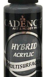 Cadence Hybride acrylverf (semi mat) Antraciet zwart 01 001 0091 0120  120 ml