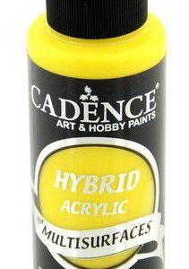 Cadence Hybride acrylverf (semi mat) Citroen geel 01 001 0008 0120  120 ml