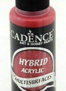 Cadence Hybride acrylverf (semi mat) Crimson Rood 01 001 0053 0120  120 ml