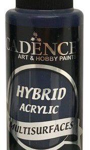 Cadence Hybride acrylverf (semi mat) Donkerblauw 01 001 0062 0120  120 ml
