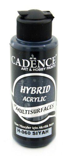 Cadence Hybride acrylverf (semi mat) Zwart 01 001 0060 0120  120 ml